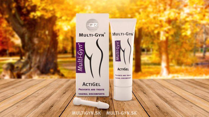 Multi-Gyn ActiGel určený na bakteriálnu vaginózu